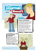Image du journal de Benoît