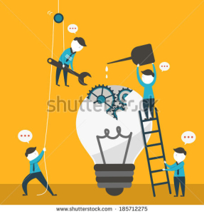 Image d'un travail en équipe