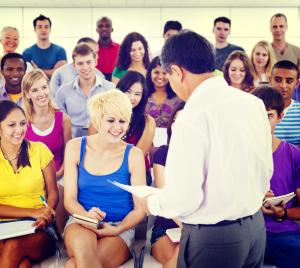 Enseignants en réunion