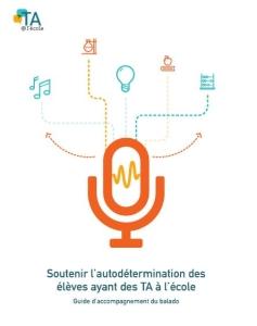 """Image de la page couverture du guide de abalado """" Autodétermination"""""""
