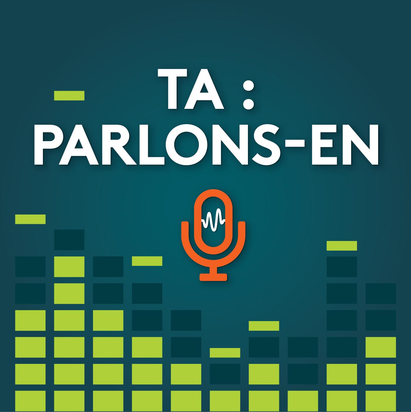 "Image du logo "" TA: Parlons-en!"