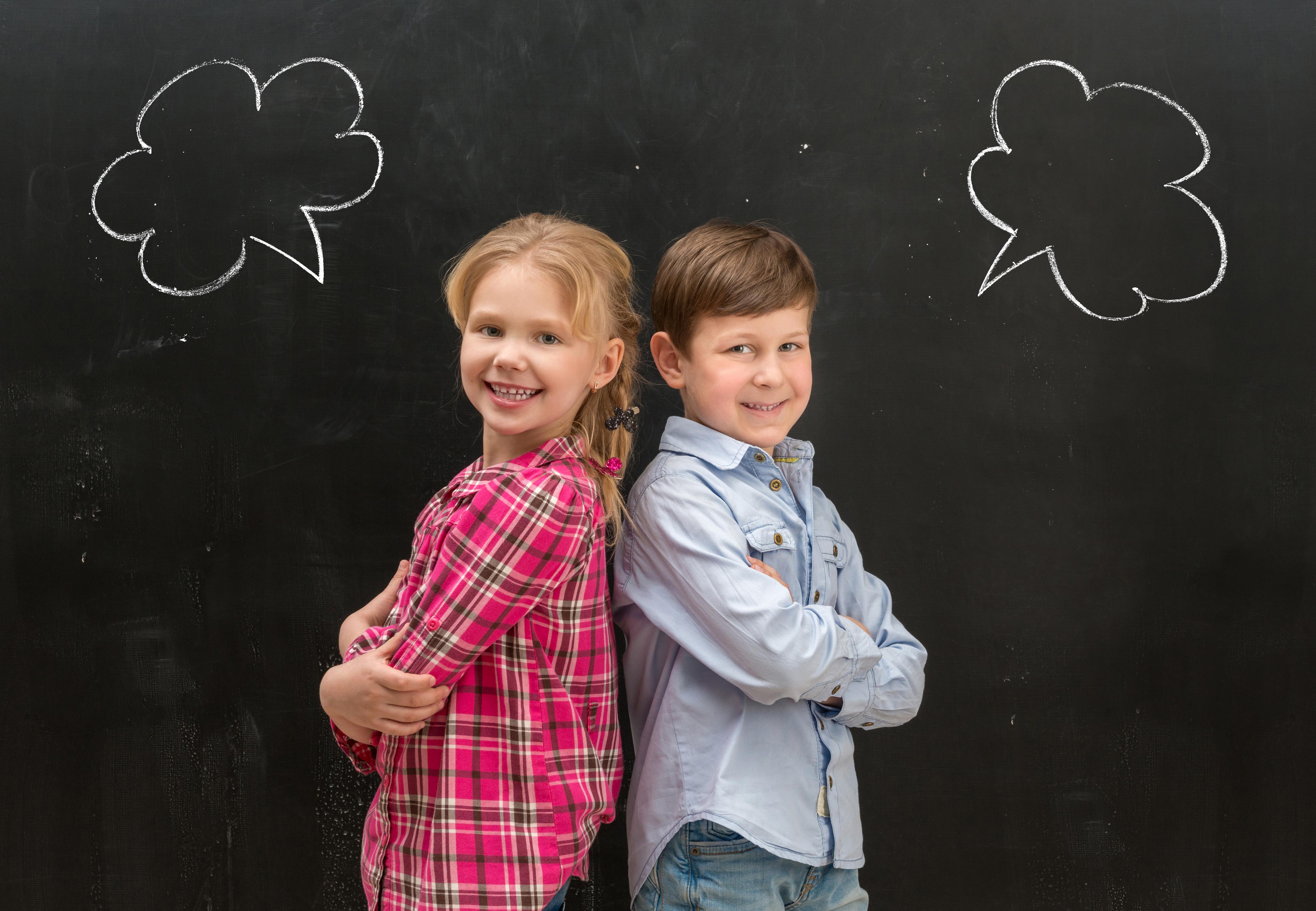 Image de deux élèves