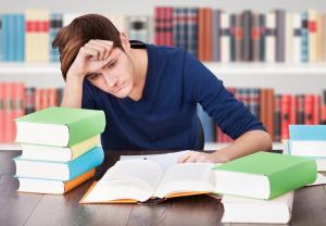 Image d'un eleve ayant de l'anxiété