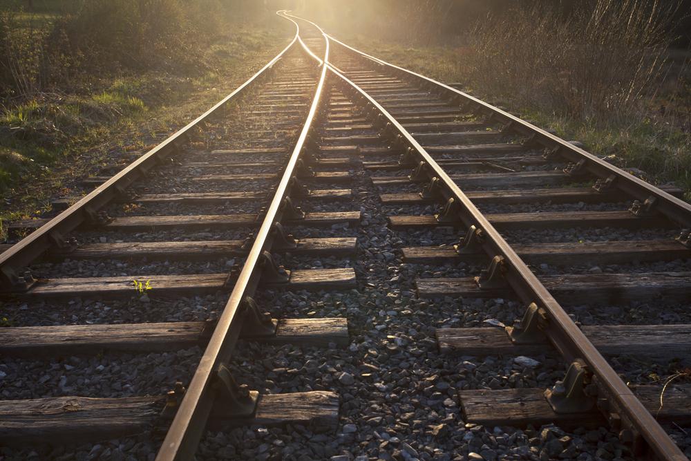 Image d'un chemin de fer.