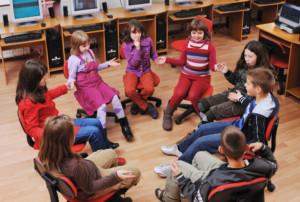 Image d'élèves