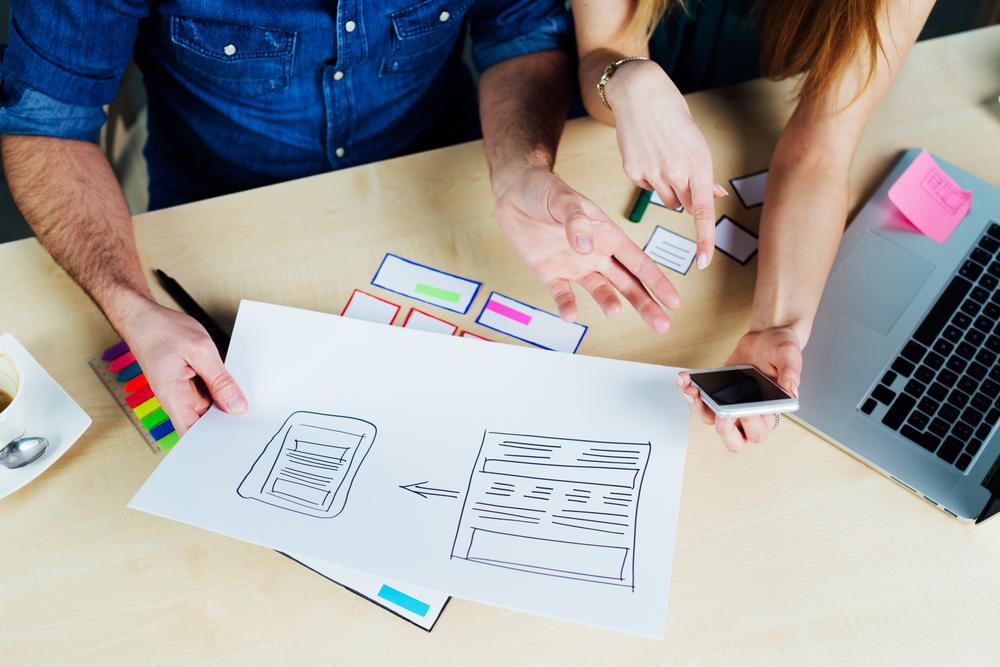 Image d'un design site Web