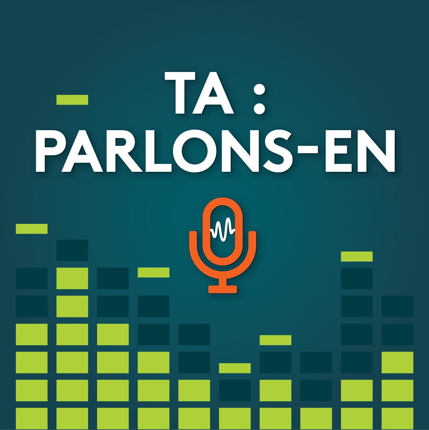logo du balado TA : Parlons-en