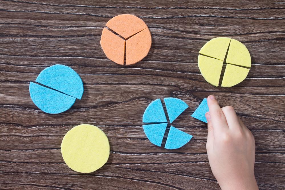 Images de fractions