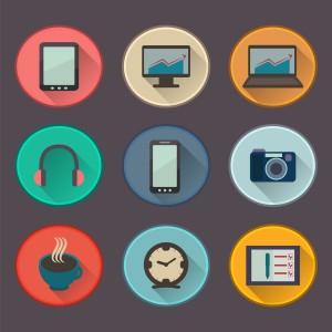 9 graphiques représentant des diverses technologies