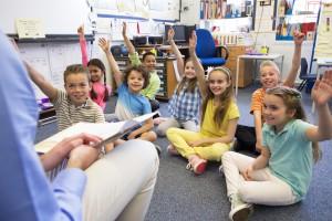 Images d'étudiants en salle de classe