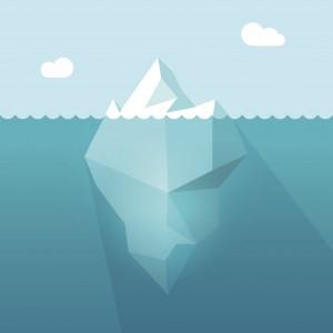 Dessin d'un iceberg